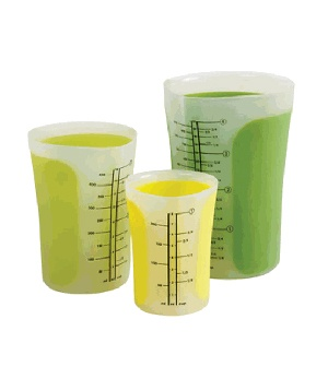 Chef'n SleekStor Pinch and Pour Measuring Beakers