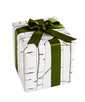 Birch wrapping paper