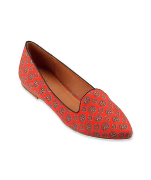 Joie Patterned Fabric Flats