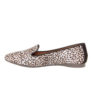 Donald J Pliner Spotted Flats in Calf Hair and Suede