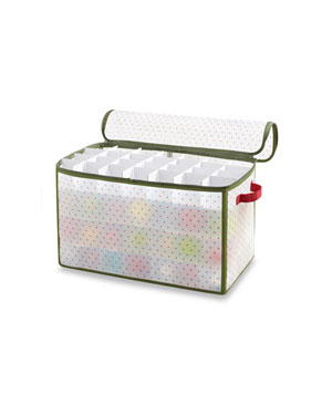 Real Simple Holiday 112-Count Ornament Storage