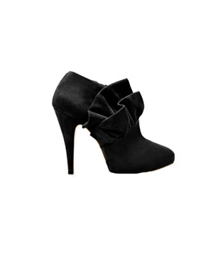 Zara Frilled Ankle Boot