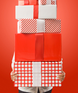 Red gifts