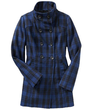 Old Navy Wool-Blend Double-Breasted Coat