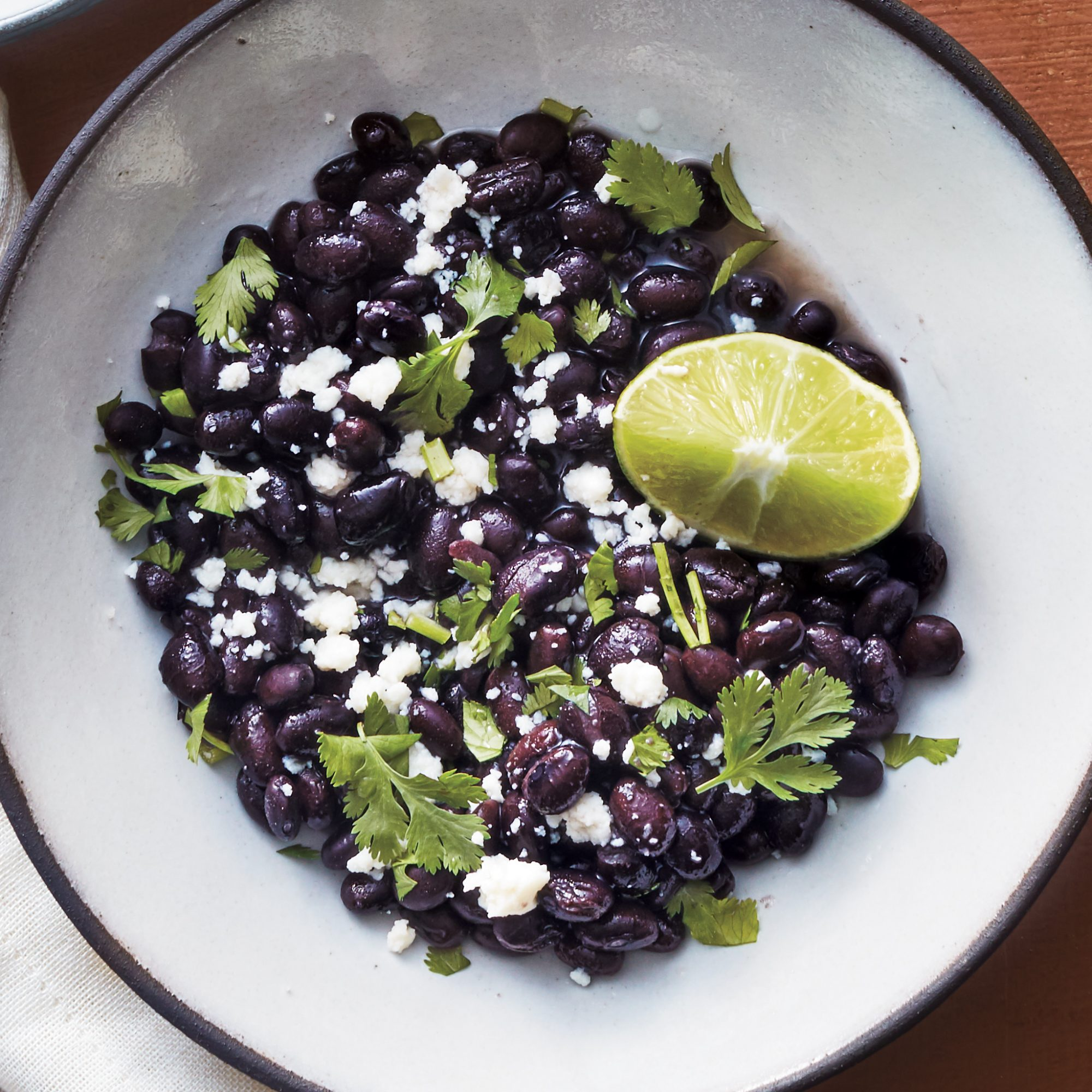 Big-Batch Slow Cooker Black Beans