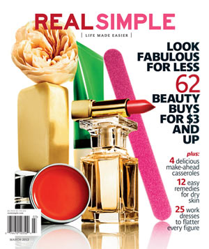 Real Simple March 2012