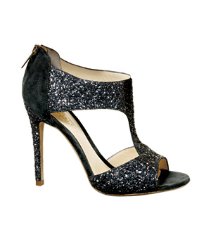 Coye Nokes Pewter Heels With Suede