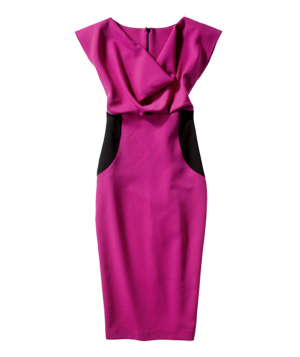 LRK Polyester-and-Spandex Dress
