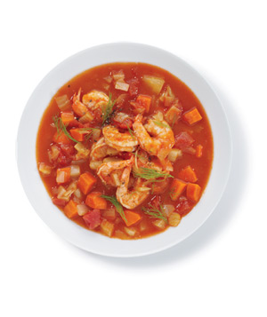 Shrimp and Vegetable Soup