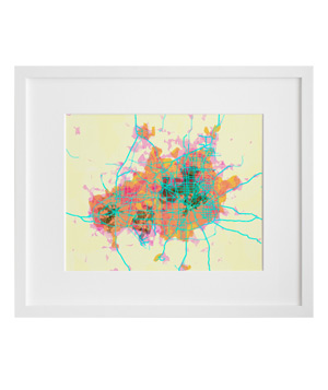 Prettymaps by Aaron Straup Cope