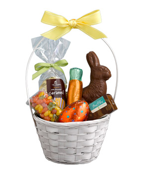 Lake Champlain Classic Milk Chocolate Easter Basket