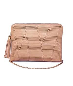 Bebe Evie Knotted Clutch