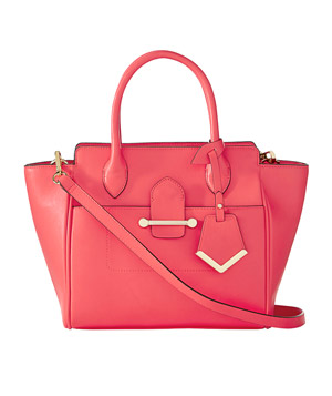 The Limited Colorful Trapezoid Tote