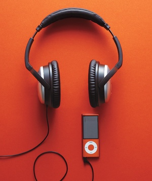 Ipod and headphones