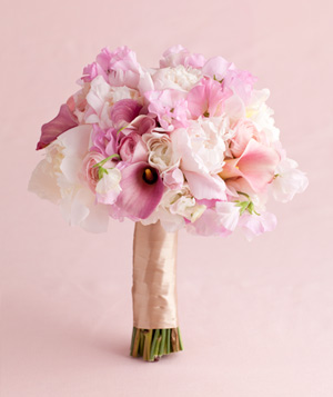 Pink Peony and Sweet Pea Mix