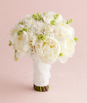 Bouquet of White Peonies