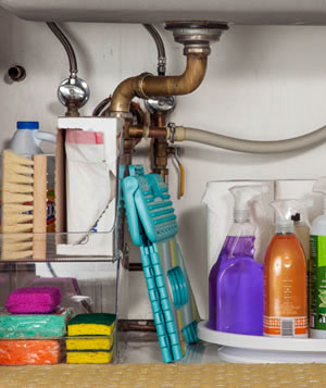 Organize Kitchen Cleaning Supplies: The Strategy