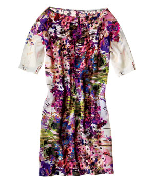 Theia Silk Dress