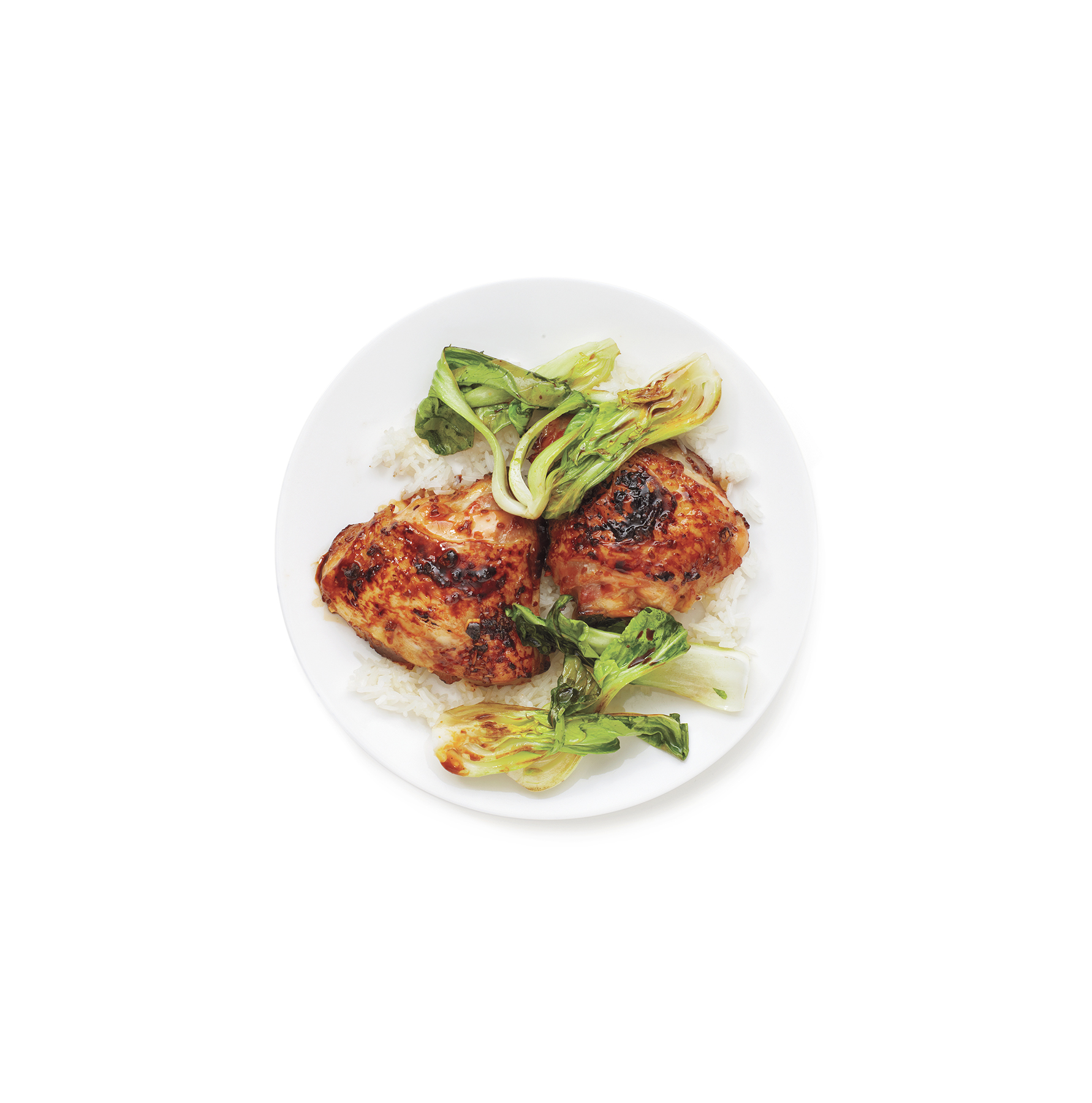 Teriyaki Chicken With Bok Choy, one of our great chicken thigh recipes