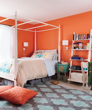 Caitie Buteau's bedroom after makeover - Landscape