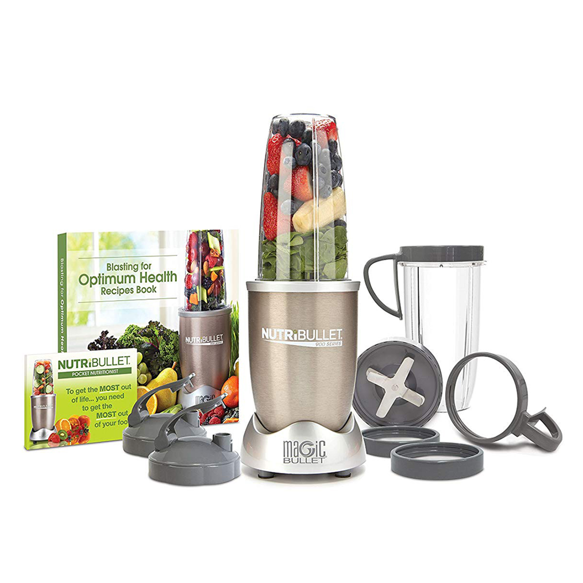 NutriBullet Pro 13-Piece High-Speed Blender System