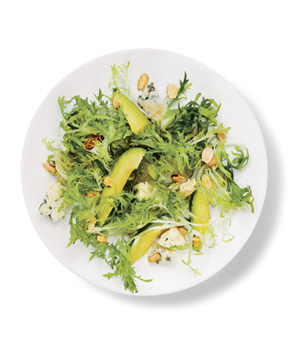 Frisée, Avocado, and Blue Cheese Salad