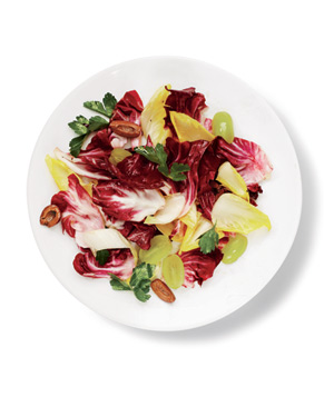 Endive, Radicchio, and Grape Salad