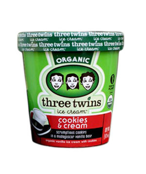 Three Twins Cookies & Cream