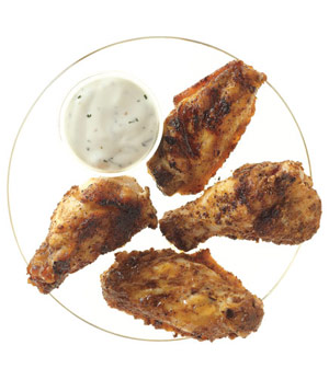 Super Bowl Snacks: Grilled Spiced Chicken Wings