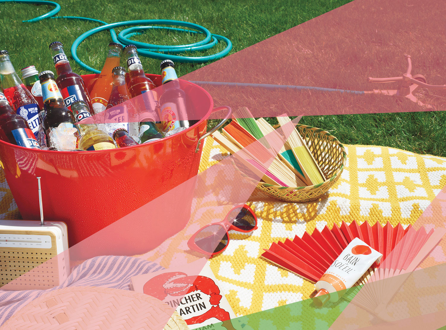 Outdoor Party and Backyard Party Ideas - picnic