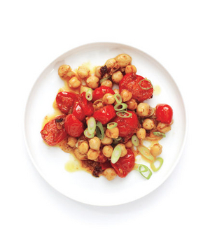 Curried Tomatoes and Chickpeas