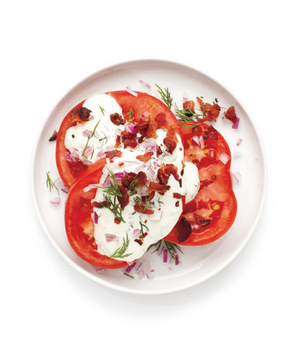 Tomatoes With Ranch Dressing