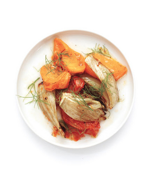 Roasted Tomatoes and Fennel