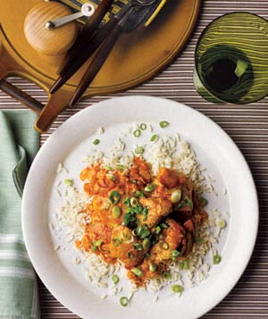Slow-Cooker Curried Chicken With Ginger and Yogurt