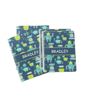 Personalized Notebook and Folder Set
