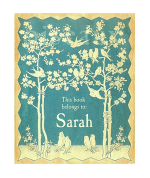 Personalized Vintage Bookplate