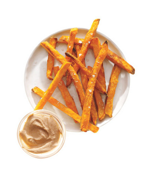 Sweet Potato Fries With Chipotle Yogurt
