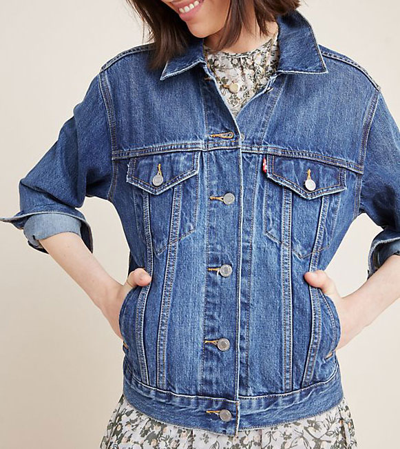 Levi's Ex-Boyfriend denim jacket