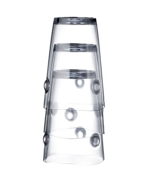 Totem Stack-and-Dry Cups