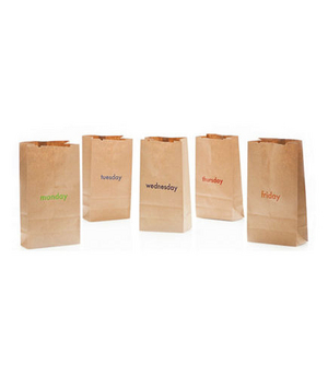 Month of Letterpress Lunchbags