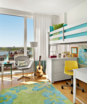 Coastal inspired child bedroom