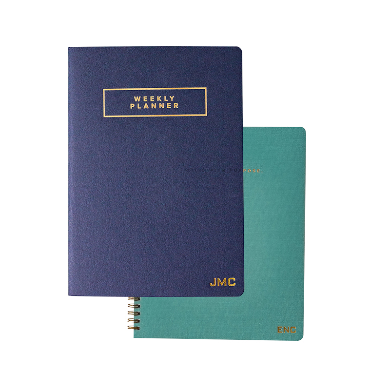 Spiral Notebook and Planner