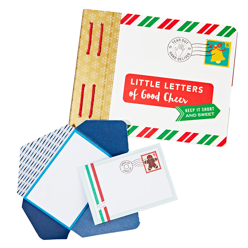 Gift Wrapping Supplies: Little Letters of Good Cheer by Lea Redmond