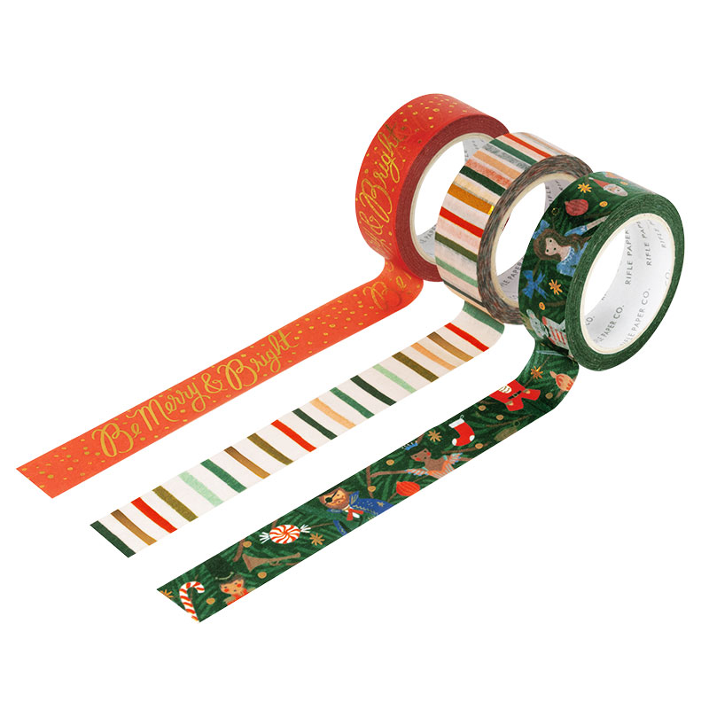Gift Wrapping Supplies: Holiday Paper Tape