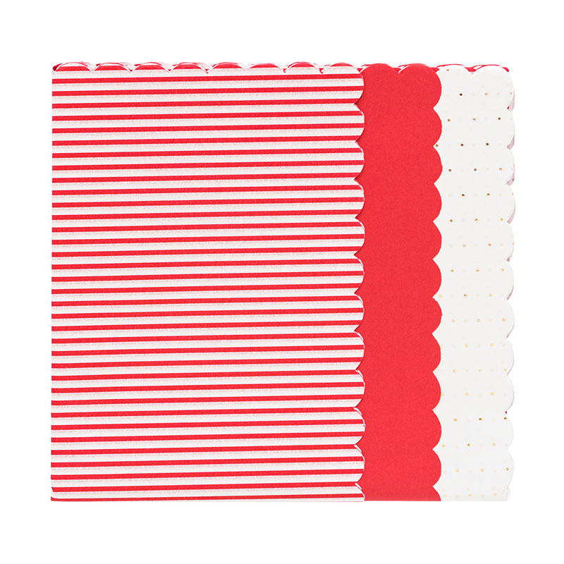 Gift Wrapping Supplies: Sugar Paper for Target Red Scallop Gift Tissue