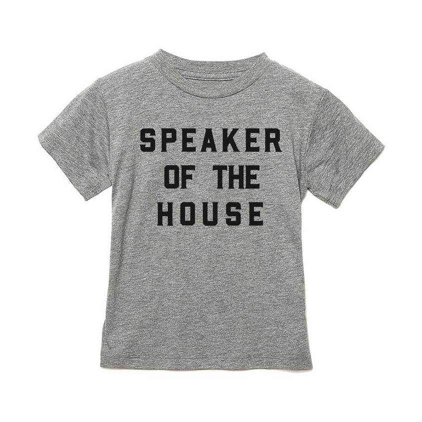 Cool gifts for kids - Love Bubby Speaker of the House shirt
