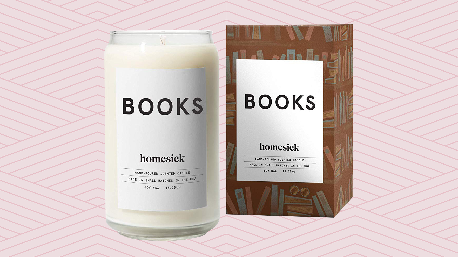 books-candles: affordable gifts for readers