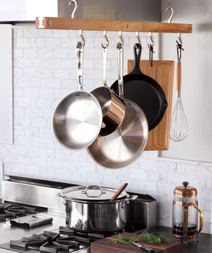 Hang Only Essential Pots