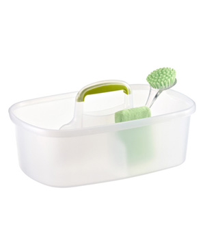 Lime Rectangular Cleaning Caddy