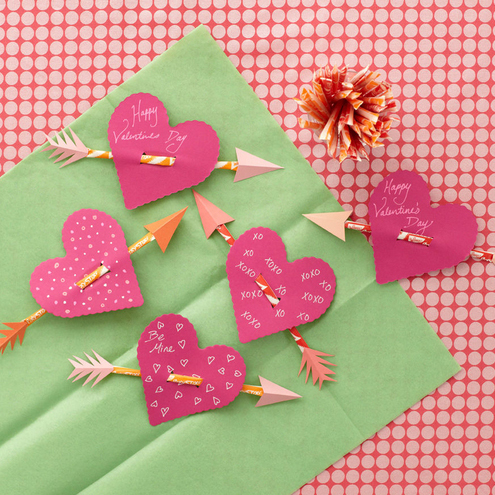 Valentine's Day crafts: How to Make Pixie Stick Hearts